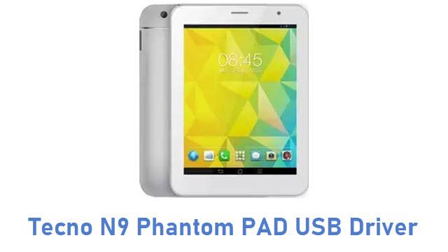 Tecno N9 Phantom PAD USB Driver