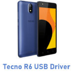 Tecno R6 USB Driver