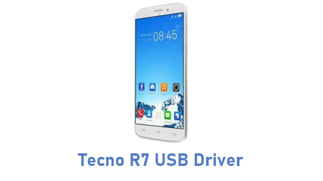 Tecno R7 USB Driver