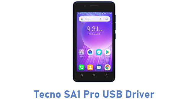 Tecno SA1 Pro USB Driver