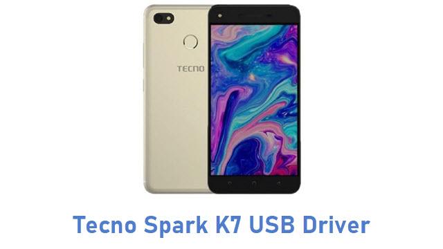 Tecno Spark K7 USB Driver