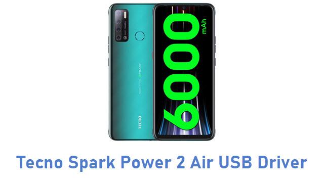 Tecno Spark Power 2 Air USB Driver