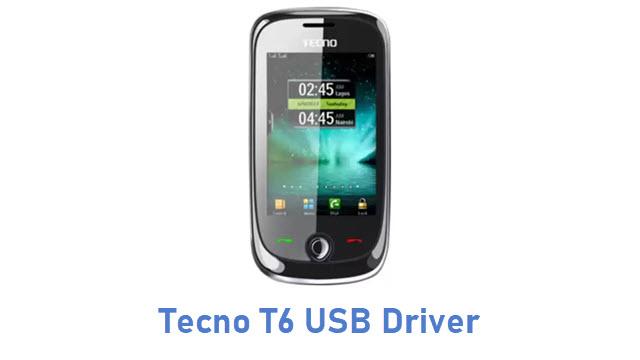 Tecno T6 USB Driver
