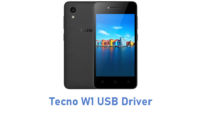 Tecno W1 USB Driver