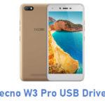 Tecno W3 Pro USB Driver