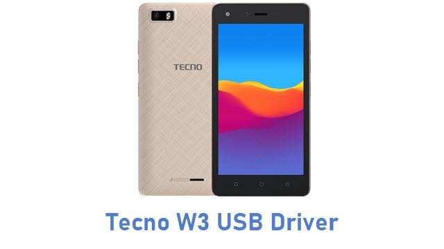 Tecno W3 USB Driver
