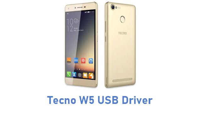 Tecno W5 USB Driver
