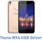 Tecno WX4 USB Driver
