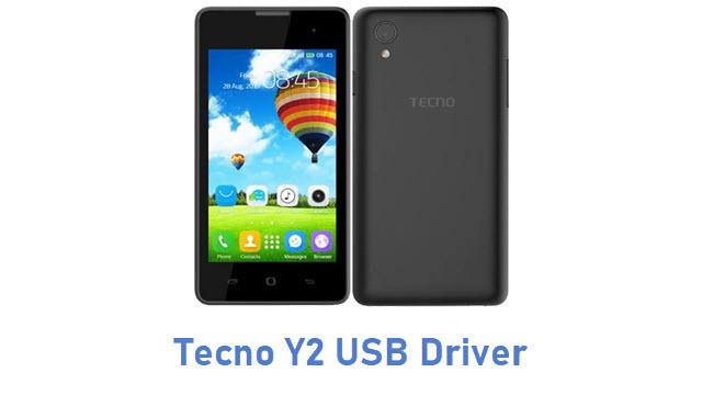 Tecno Y2 USB Driver
