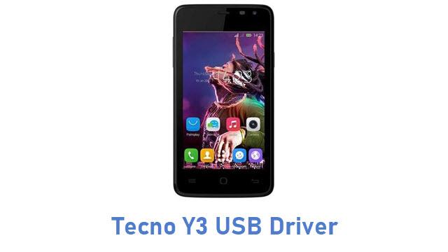 Tecno Y3 USB Driver