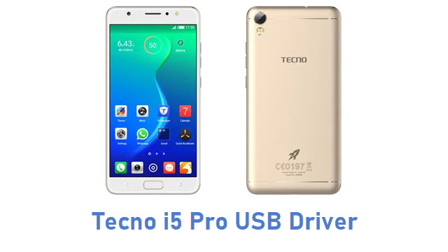 Tecno i5 Pro USB Driver