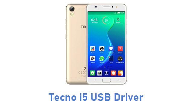 Tecno i5 USB Driver