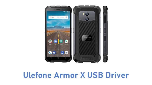 Ulefone Armor X USB Driver