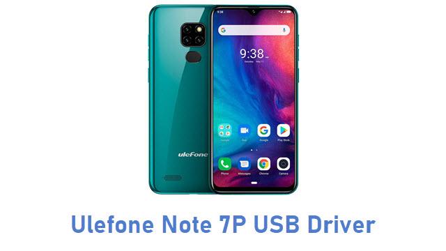 Ulefone Note 7P USB Driver