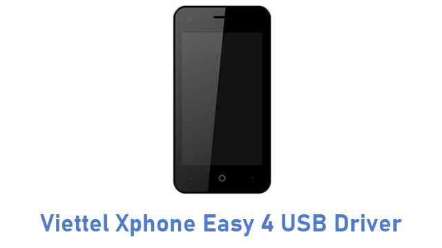 Viettel Xphone Easy 4 USB Driver