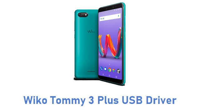 Wiko Tommy 3 Plus USB Driver