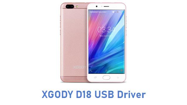 XGODY D18 USB Driver