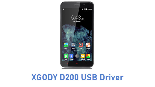 XGODY D200 USB Driver
