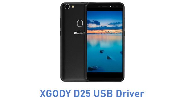 XGODY D25 USB Driver