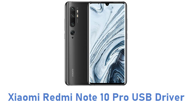 Xiaomi Redmi Note 10 Pro USB Driver