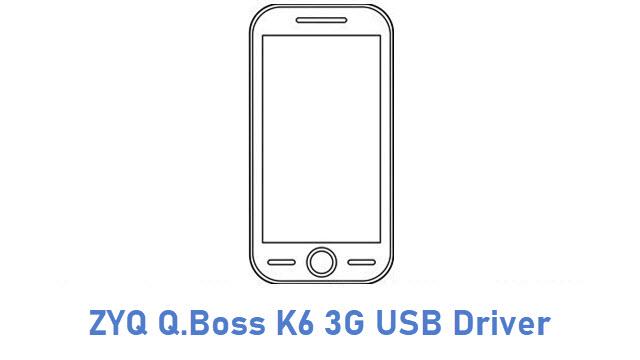 ZYQ Q.Boss K6 3G USB Driver