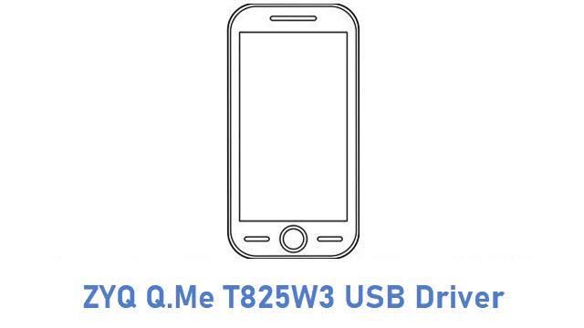 ZYQ Q.Me T825W3 USB Driver