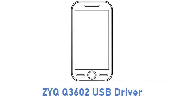 ZYQ Q3602 USB Driver