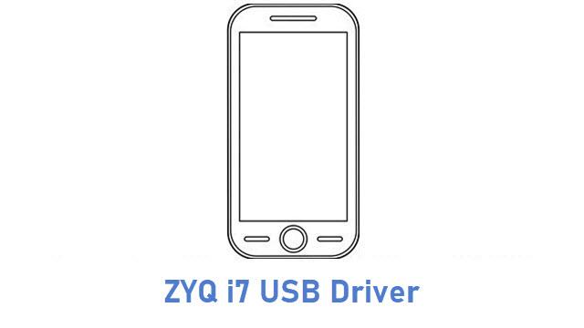 ZYQ i7 USB Driver
