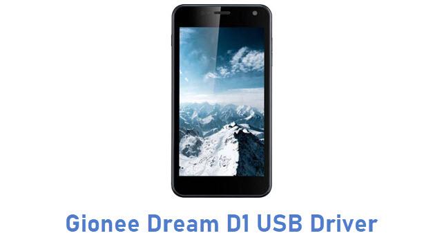 Gionee Dream D1 USB Driver