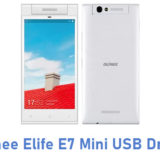 Gionee Elife E7 Mini USB Driver