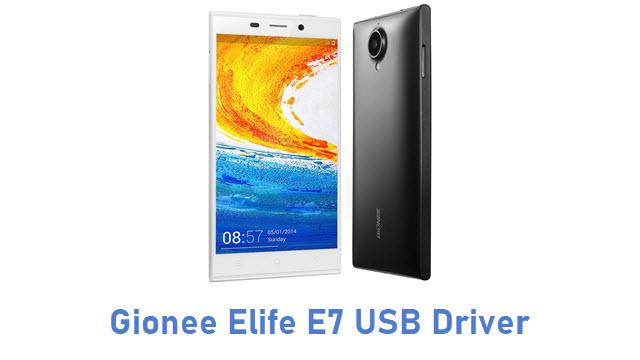 Gionee Elife E7 USB Driver
