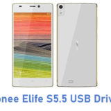 Gionee Elife S5.5 USB Driver