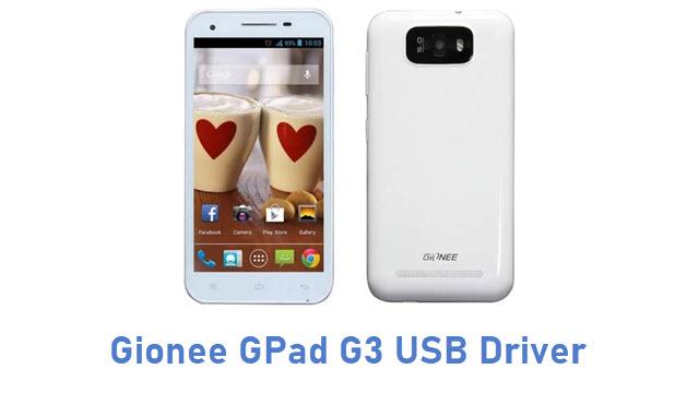 Gionee GPad G3 USB Driver