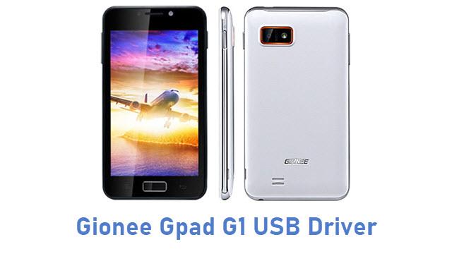 Gionee Gpad G1 USB Driver