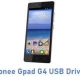 Gionee Gpad G4 USB Driver