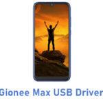 Gionee Max USB Driver
