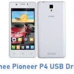 Gionee Pioneer P4 USB Driver