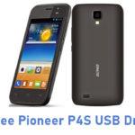 Gionee Pioneer P4S USB Driver
