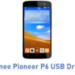 Gionee Pioneer P6 USB Driver