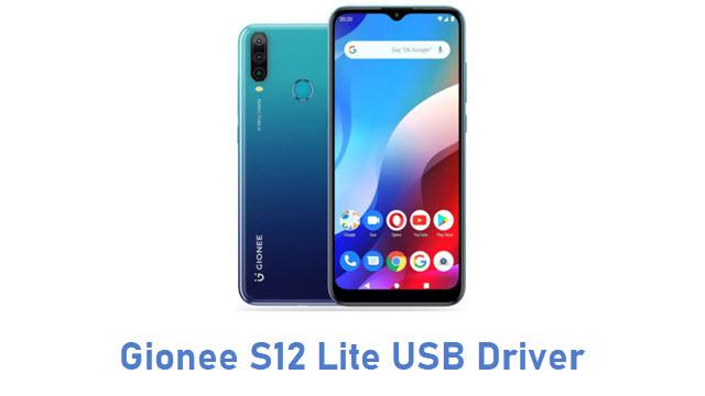 Gionee S12 Lite USB Driver