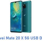 Huawei Mate 20 X 5G USB Driver