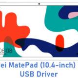 Huawei MatePad (10.4-inch) Wi-Fi USB Driver