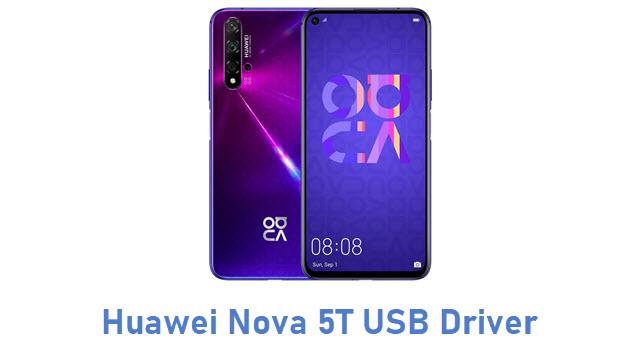 Huawei Nova 5T USB Driver