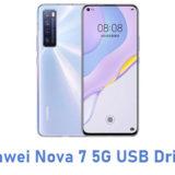 Huawei Nova 7 5G USB Driver