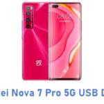 Huawei Nova 7 Pro 5G USB Driver