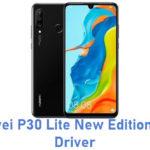Huawei P30 Lite New Edition USB Driver