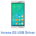 Invens D3 USB Driver
