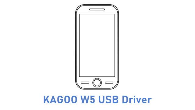 KAGOO W5 USB Driver