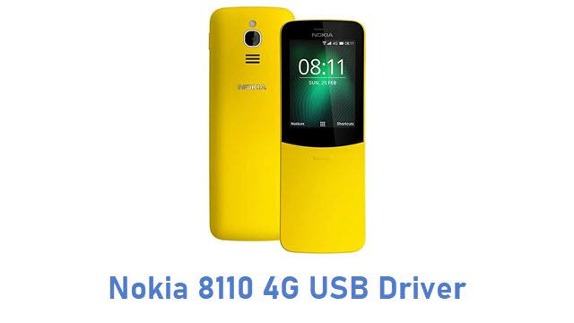 Nokia 8110 4G USB Driver
