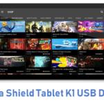 Nvidia Shield Tablet K1 USB Driver